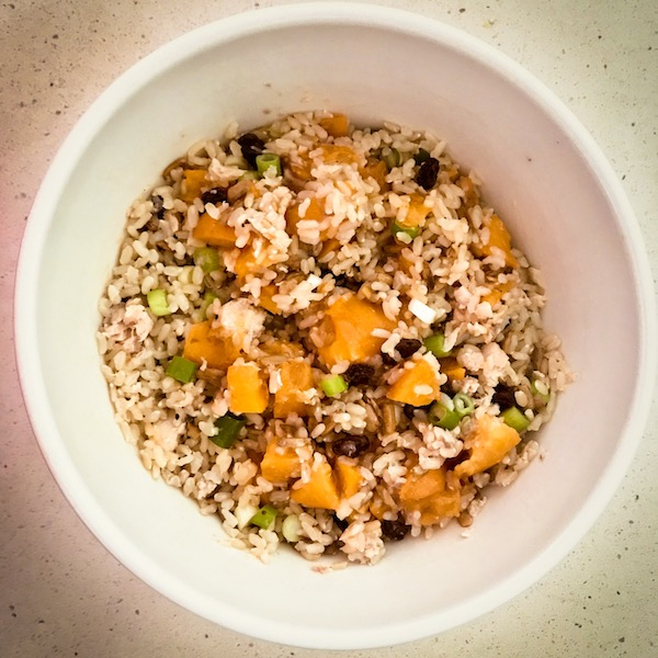 Apricot Brown Rice Pilaf