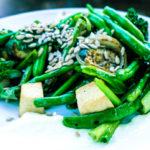 Asian Stir Fry Greens