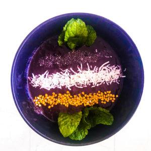 low calorie acai bowl